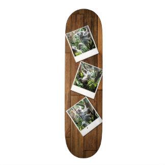 Personalizable Instant Multi Photo Frame Skateboard