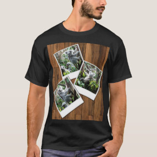 Personalizable Instant Multi Photo Frame T-Shirt