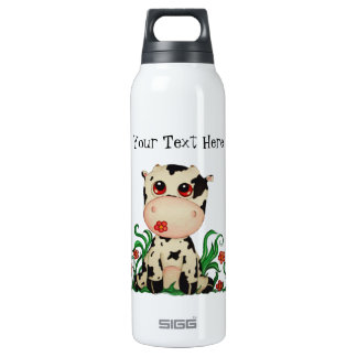 Personalizable lindo de la vaca del bebé