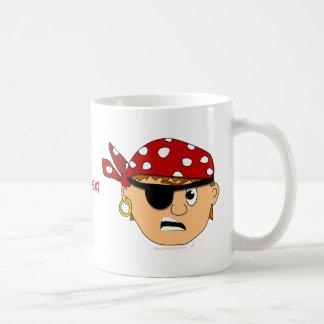 Personalizable lindo Scowling de la materia del pi Taza De Café