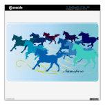 Personalizable: Los caballos funcionan con libreme Calcomanía Para 27,9cm MacBook Air