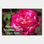 Personalizable magenta del rosa rosado y blanco