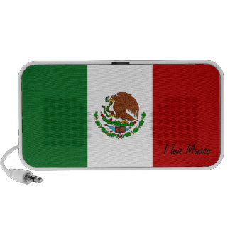 Personalizable Mexican Flag Doodle Speakers
