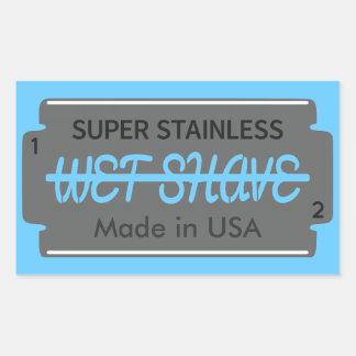 Personalizable mojado del afeitado de la hoja de rectangular altavoz