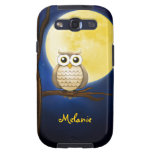 Personalizable Night Owl  iPhone 5 Samsung Galaxy S3 Case