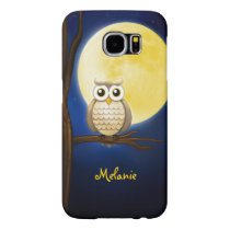 Personalizable Night Owl Samsung Galaxy S6 Case