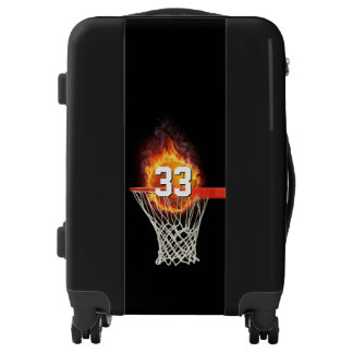 Personalizable Number | Basketball Sport Gift Luggage