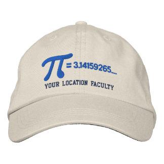 Personalizable Pi Formula Baseball Cap