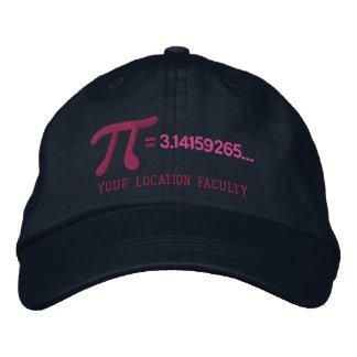 Personalizable Pi Formula Embroidered Baseball Hat