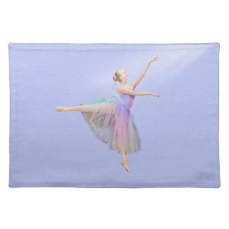 Personalizable Placemat de la bailarina Mantel Individual