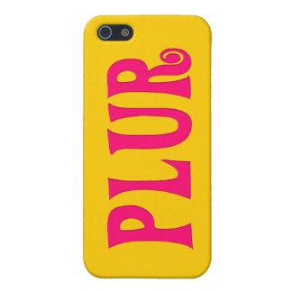 Personalizable PLUR iPhone 5 Carcasa