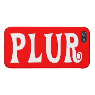 Personalizable PLUR iPhone 5 Funda