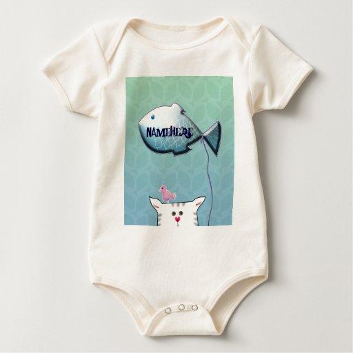 Personalizable: Poco globo de Alfie Body Para Bebé