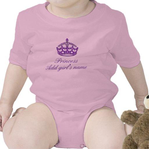 Personalizable - princesa (añada el nombre de su c camiseta