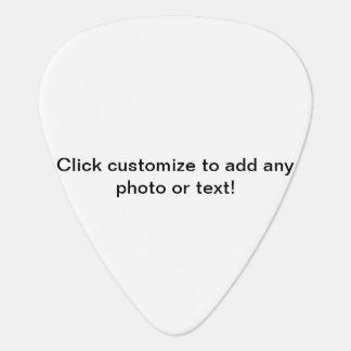 personalizable uñeta de guitarra