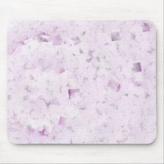 Personalizable púrpura Mousepad del confeti Tapete De Raton
