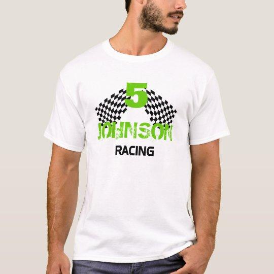Personalizable Racing Flags T-Shirt