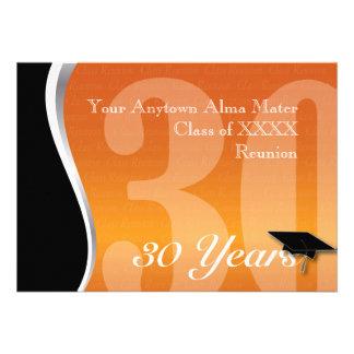 Personalizable reunión de antiguos alumnos de 30 a anuncios personalizados