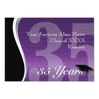 Personalizable reunión de antiguos alumnos de 35 comunicados personales