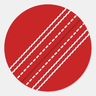 Personalizable rojo de los pegatinas el | de la pegatina redonda