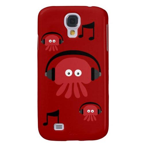 Personalizable rojo enrrollado de Dee Jay de las m
