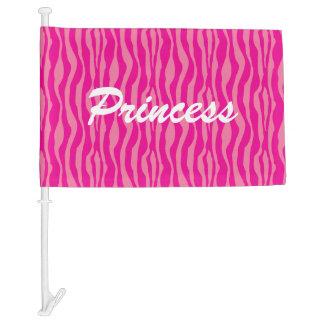 Personalizable rosado del modelo del estampado de