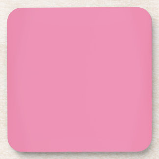 Personalizable rosado dulce moderno posavasos