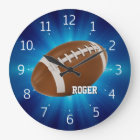 Personalizable Rugby Wall Clock