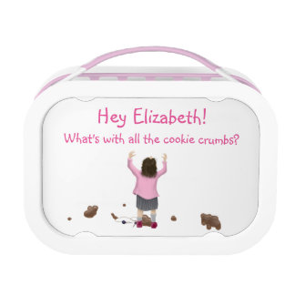 Personalizable. Scottish Jeely Piece Kid. Crumbs! Lunch Box