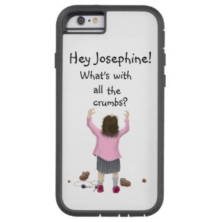 Personalizable. Scottish Jeely Piece Kid. Crumbs! Tough Xtreme iPhone 6 Case