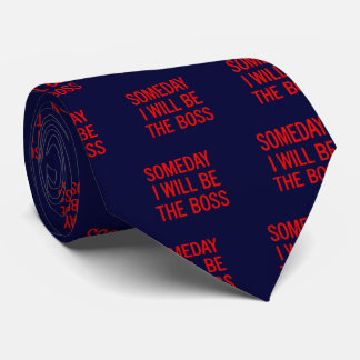 Personalizable seré algún día Boss Corbatas