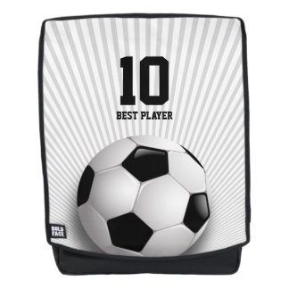 Personalizable Soccer | Best Player Gifts Backpack