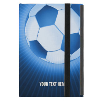 Personalizable Soccer Covers For iPad Mini