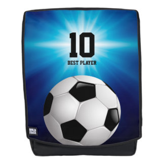Personalizable Soccer | Football Best Player Backpack