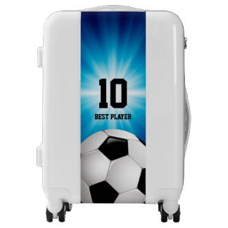 Personalizable Soccer | Football Best Player Luggage