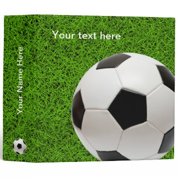 Aztec Themed Personalizable Soccer | Football Binder