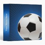 Personalizable Soccer | Football Binders