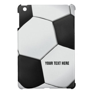 Personalizable Soccer Football | Sport Fan Gift Cover For The iPad Mini