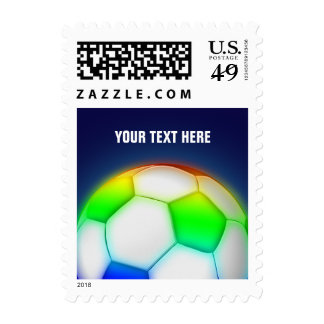 Personalizable Soccer | Football Sport Postage Stamp