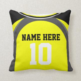 Personalizable Soccer Jersey Lumbar/Throw Pillow