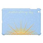 Personalizable soleado del caso el | del iPad del