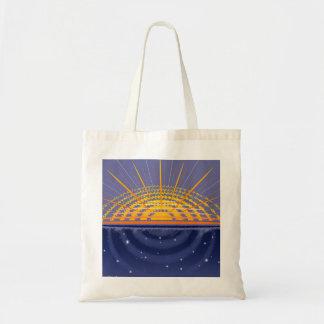 Personalizable soleado del universo el | bolsa tela barata