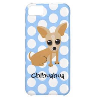 Personalizable Tan Chihuahua Case For iPhone 5C