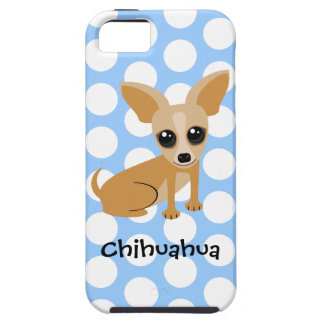 Personalizable Tan Chihuahua iPhone SE/5/5s Case