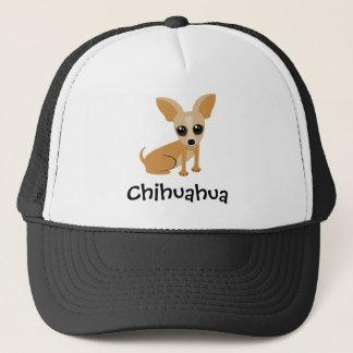 Personalizable Tan Chihuahua Trucker Hat