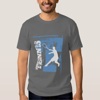 Personalizable tennis t shirt for men and boys