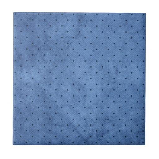 Personalizable - todo en azul azulejo cuadrado pequeño