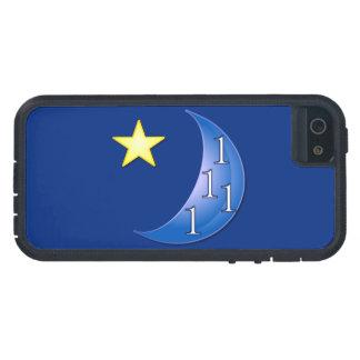 Personalizable una vez en una luna azul funda iPhone SE/5/5s
