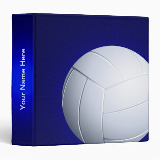 Personalizable Volleyball  | Cool Sports Gifts Binder