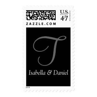 Personalizable Wedding Monograms Stamps